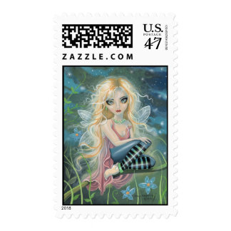 Cute Little Starlight Fairy Fantasy Art Stamps