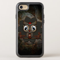 Cute little steampunk owl OtterBox symmetry iPhone 8/7 case