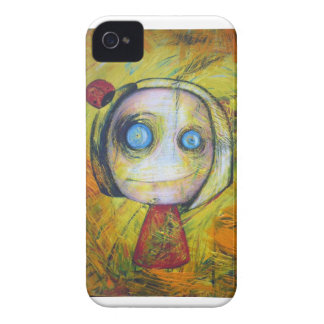 cute little strange girl iPhone 4 case