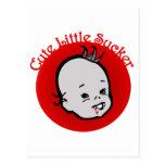 Cute Little Sucker Postcard