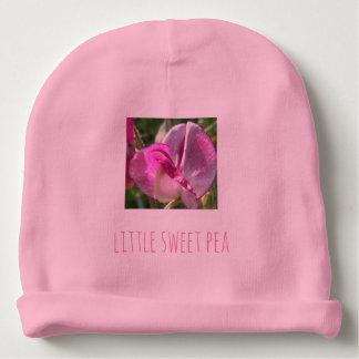 Cute little sweet pea baby's beanie hat
