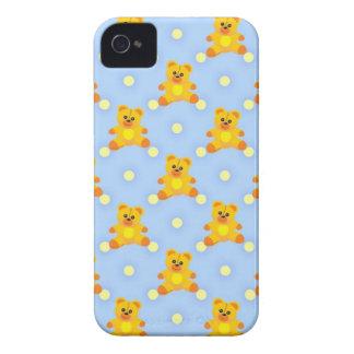Cute Little Teddy Bears iPhone 4 Case-Mate Case