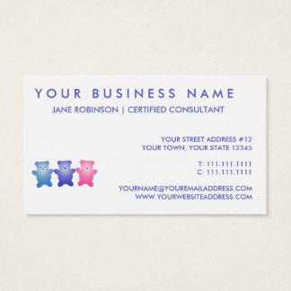 Cute Little Teddy Birds Business Card