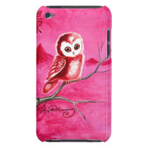 Cute Little Thoughtful Owl iPod Touch Case