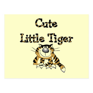 Cute Little Tiger Tshirts and Gifts Postcard