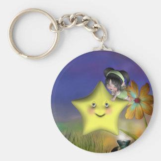 Cute little toon tot baby fairys 1 key chains