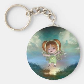 Cute little toon tot baby fairys 1 key chain