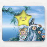 Cute little toon tot baby fairys 1 mouse mat