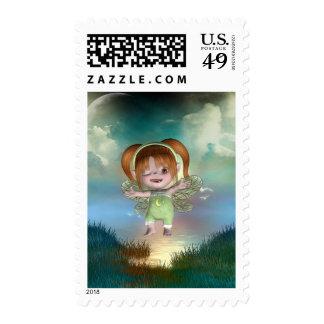 Cute little toon tot baby fairys 1 postage