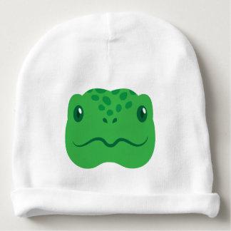 cute little tortoise turtle face baby beanie
