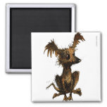 Cute Little Toy Dog 2 Inch Square Magnet