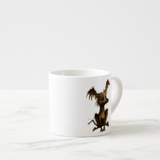 Cute Little Toy Dog Espresso Cup