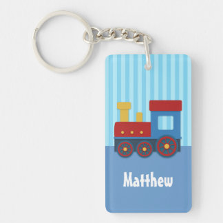 Cute Little Train Kids Personalized Keychain