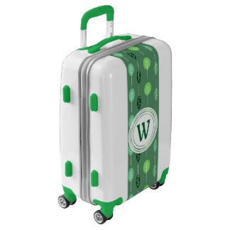 Cute Little Trees Personalized Luggage
