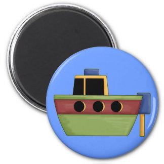 Cute Little Tug Boat Magnet