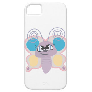 cute little vector butterfly cartoon iPhone SE/5/5s case