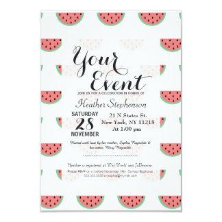Cute Little Watermelon Pattern Card