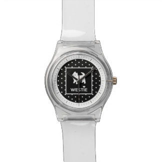 Cute Little Westie - West Highland Terrier Wrist Watch