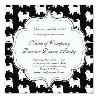 Cute Little Westie - West Highland White Terriers Card