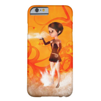 Cute little witch barely there iPhone 6 case