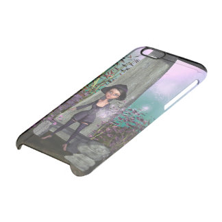 Cute little witch uncommon clearly™ deflector iPhone 6 case