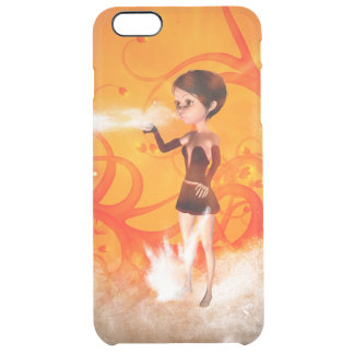 Cute little witch uncommon clearly™ deflector iPhone 6 plus case