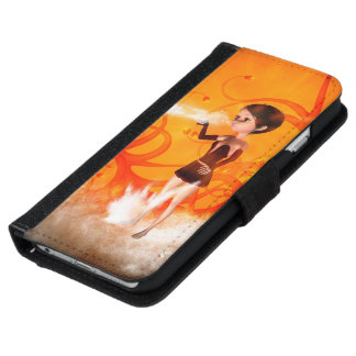 Cute little witch iPhone 6 wallet case