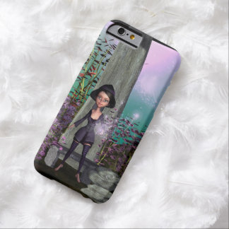 Cute little witch with barely there iPhone 6 case