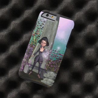 Cute little witch with tough iPhone 6 case