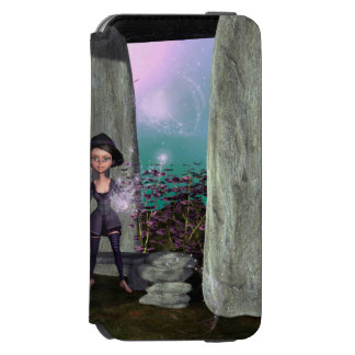 Cute little witch incipio watson™ iPhone 6 wallet case