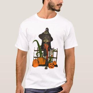 Cute little wtich halloween t shirt, Witch T-Shirt