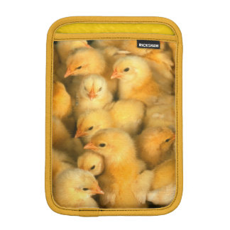 Cute Little Yellow Chicks Sleeve For iPad Mini