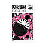 Cute Little Zebra Stamp