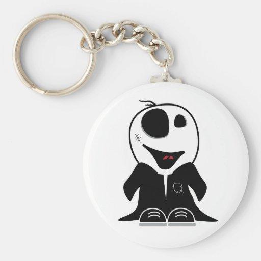 cute little zombie dude original keychain