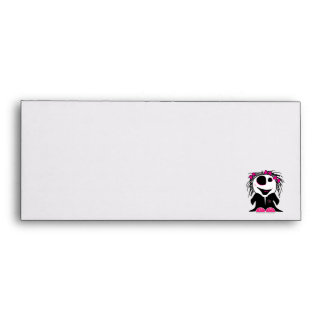 cute little zombie girly envelopes