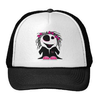 cute little zombie girly trucker hat