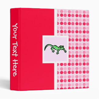 Cute Lizard Binder