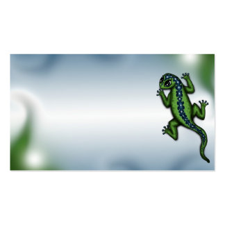 cute Lizard business cards