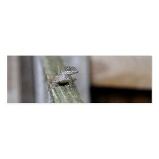 Cute Lizard Close Up Business Cards