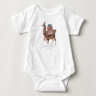 Cute Llama Animal | Baby Boy | Bodysuit