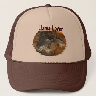 Cute Llama Lover Animal Trucker Hat