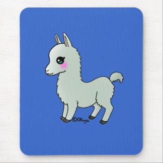 Cute Llama Mouse Pad
