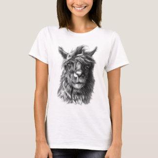 Cute Llama portrait T-Shirt