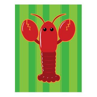Cute Lobster Postcard