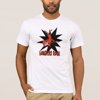 Cute Lobsters Rock T-Shirt
