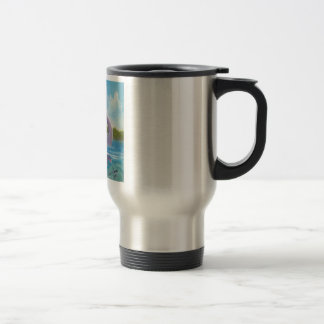 Cute loch ness monster picture travel mug