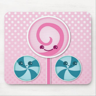 Cute lollies mouse pad
