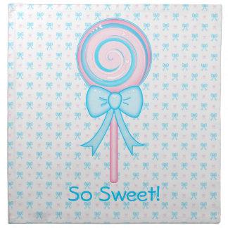Cute Lollipop Cloth Napkin