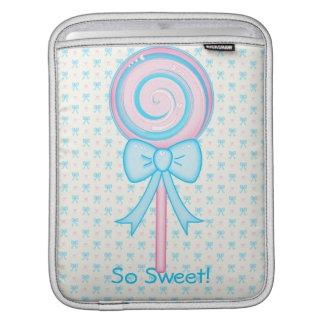 Cute Lollipop iPad Sleeve