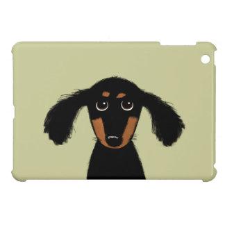 Cute Long Haired Dachshund Puppy iPad Mini Cases